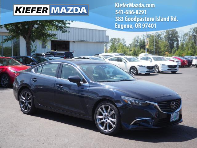 Pre-Owned 2016 Mazda6 4dr Sdn Auto i Grand Touring