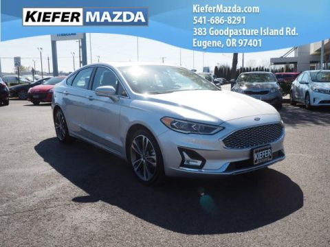 Pre-Owned 2019 Ford Fusion Titanium AWD