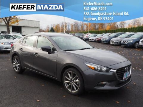 Pre-Owned 2018 Mazda3 4-Door Touring Auto